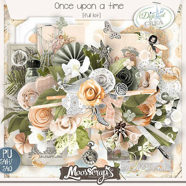 Once upon a time  - 85 éléments uniques - 14 papiers  http://digital-crea.fr/shop/index.php?main_page=product_info&cPath=155_333&products_id=19820#.VRLC8fmG-So