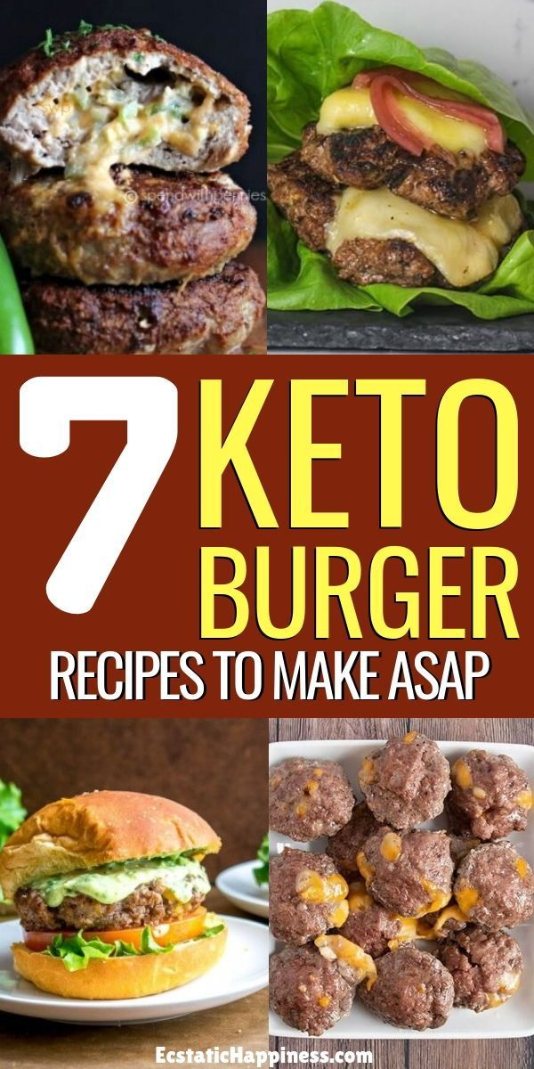 7 Keto Burger Recipes That'll Brighten Up Your Day images