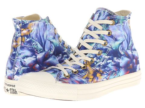 a8257bfdd35a Converse Chuck Taylor® All Star® Floral Print Hi Peacock Multi - Zappos.com  Free Shipping BOTH Ways