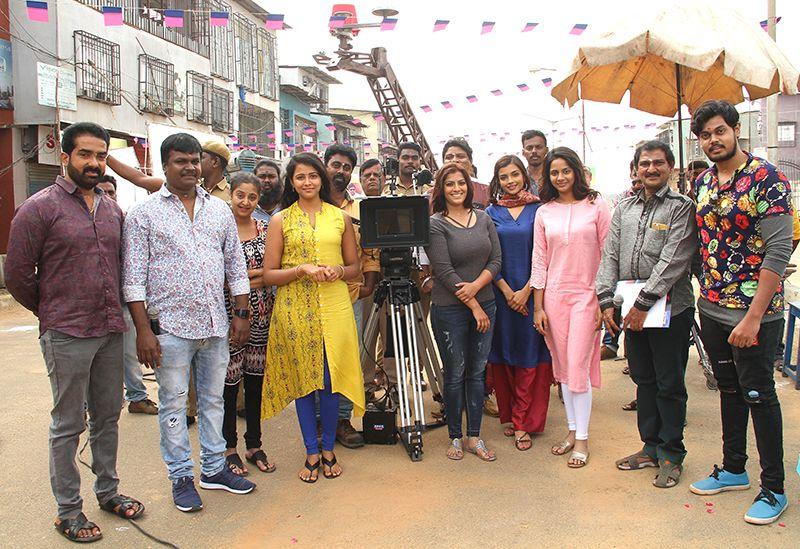 Varalakshmi Sarathkumar At Kannitheevu Movie Launch