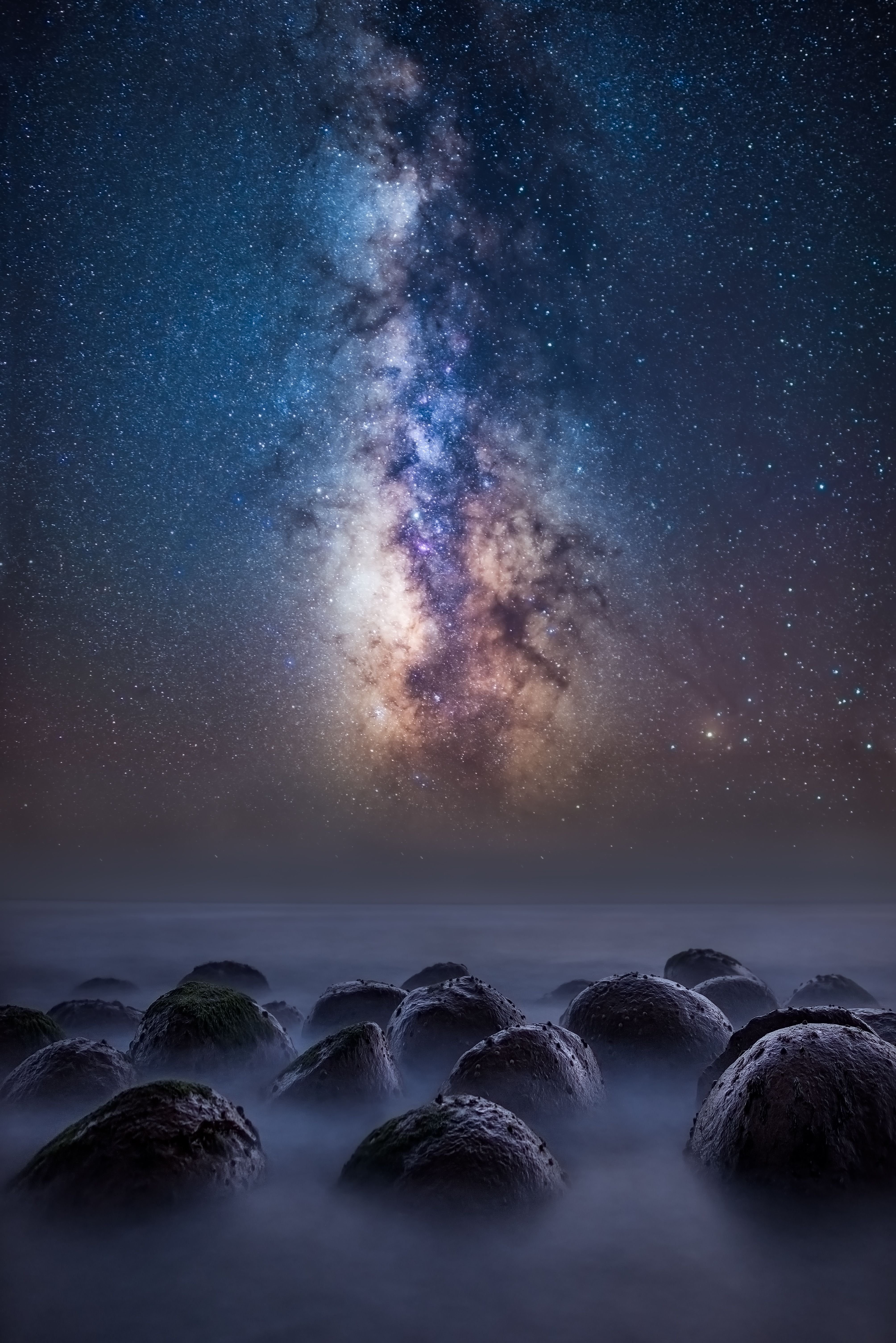 Milky Way Over The Bowling Ball Beach In Northern California 4016x6016 Https Ift Tt 2ijxbe5 Astronomy Photography Milky Way Photography Inspiration Nature