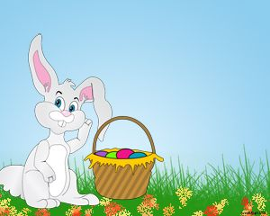 Happy Easter Powerpoint Template  Celebrate Easter And Used This
