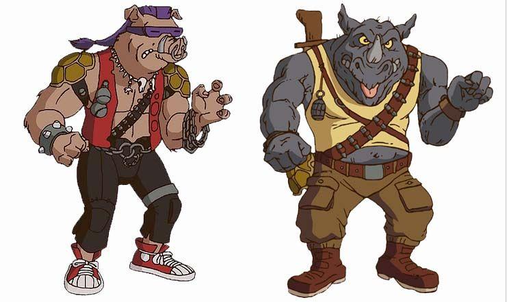 tmnt villains bebop and rocksteady google search ninja turtles