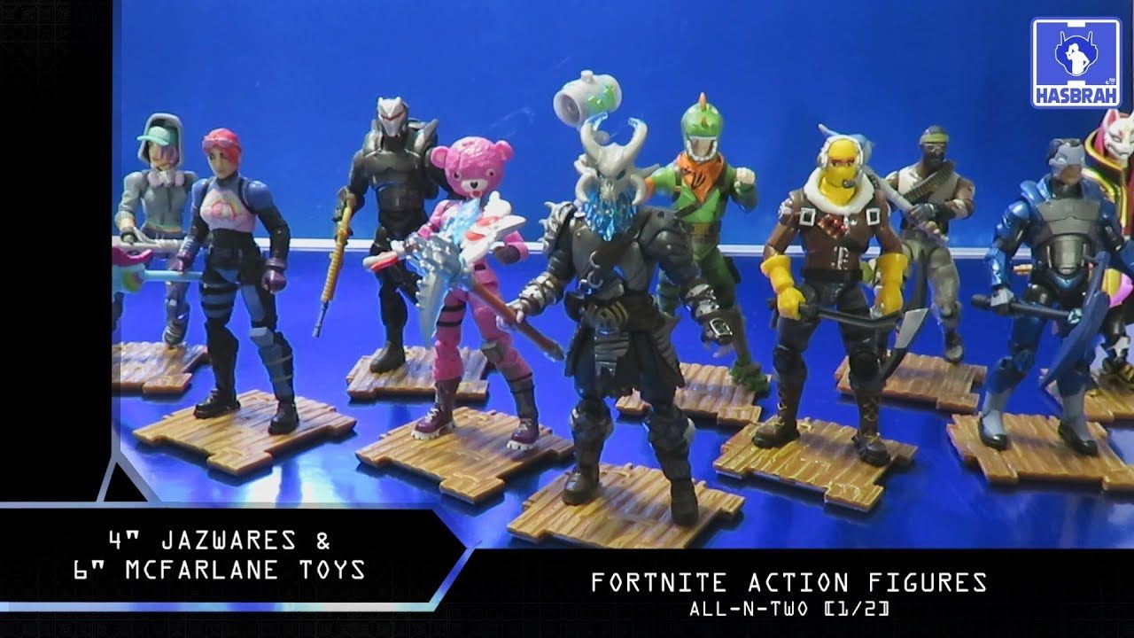 Jazwares Mcfarlane Toys Fortnite Action Figures All N Two 1 2