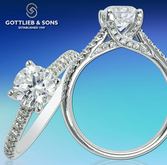 Just #SayYes To This #vintage Inspired Diamond
