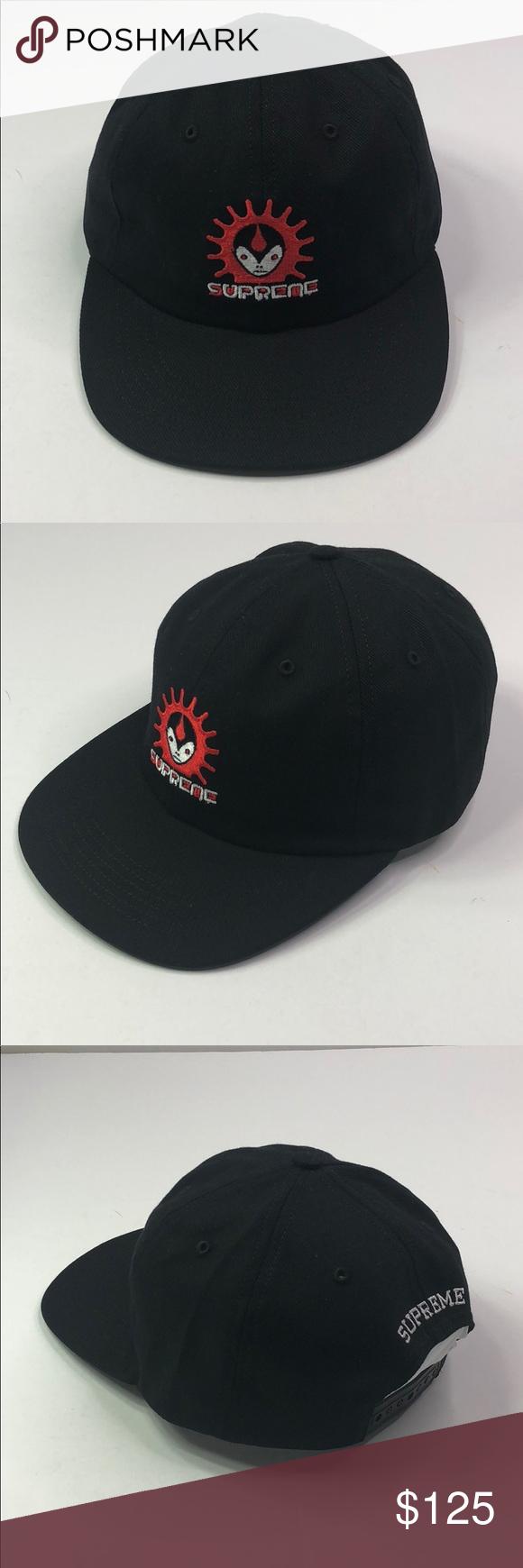 a0ac8862f5c Brand New... SUPREME Vampire 6-Panel Style  Black Supreme Accessories Hats