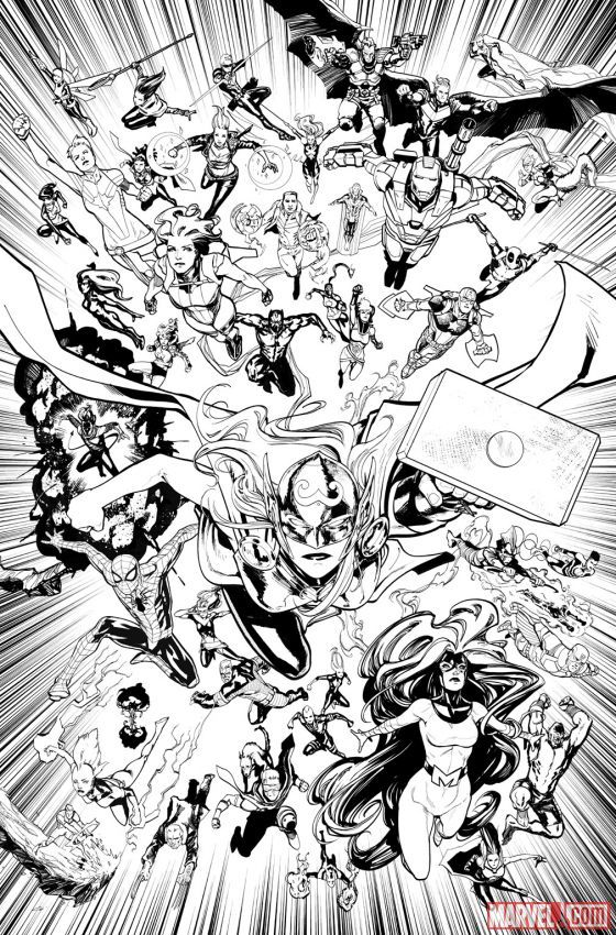 Primer vistazo a Civil War 2 de Marvel Comics