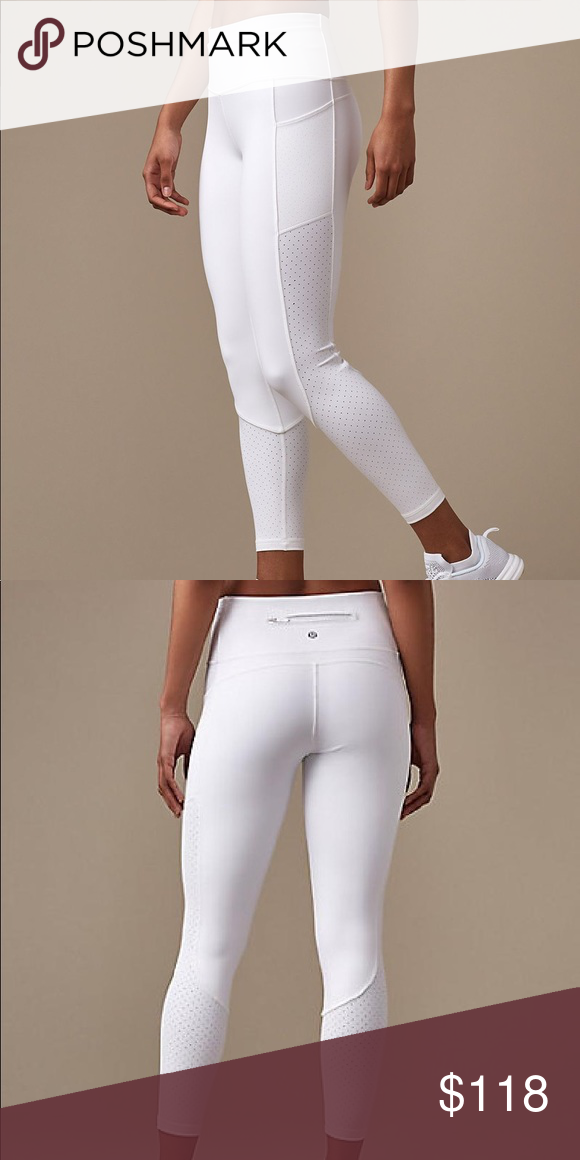 259ef8788a White Lululemon Mind Over Miles Tight (25
