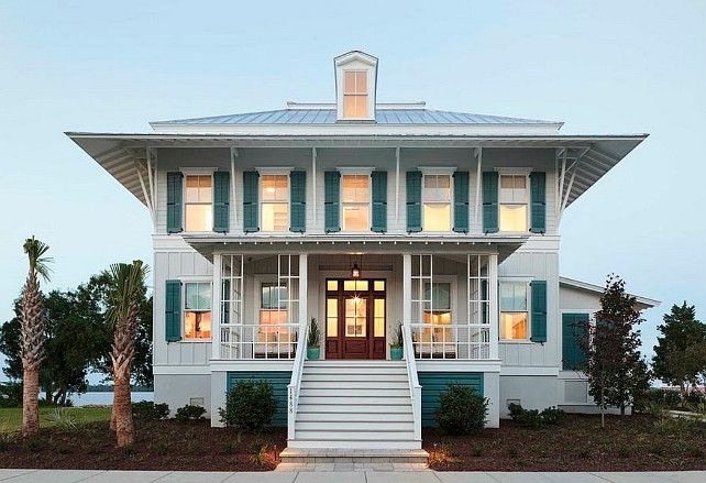 Coastal living showhouse coastal living showhouse the for Coastal living exterior paint colors