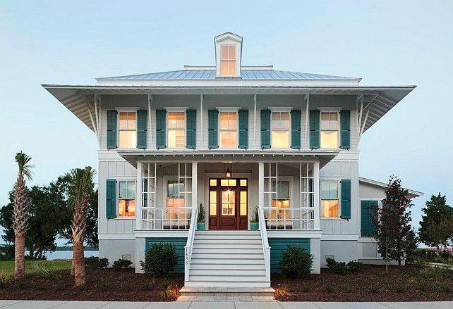 daniel island south carolina beach house o t beach house tour exterior house colors. Black Bedroom Furniture Sets. Home Design Ideas