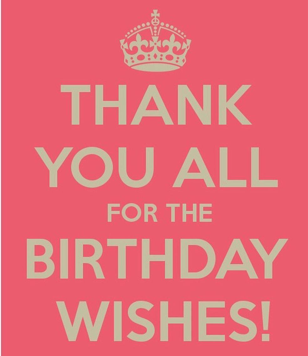 Thank you quotes pinterest happy birthday birthdays thank you for birthday wishes messages kristyandbryce Choice Image