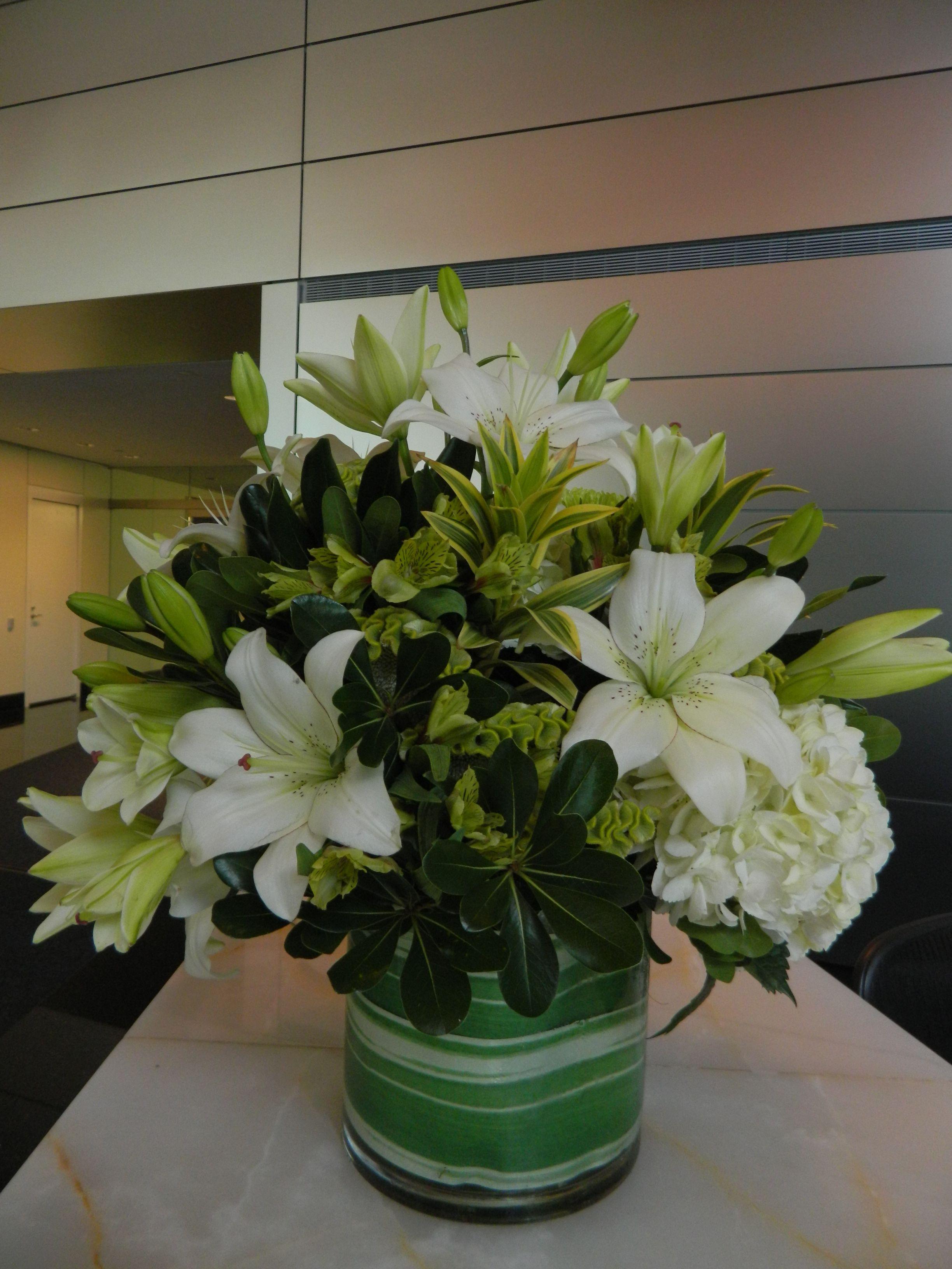 Eyelash lily green celoscia white hydrangea white eyelash lily green celoscia white hydrangea izmirmasajfo