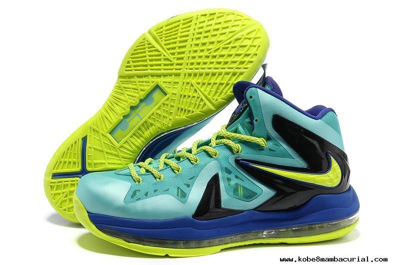 Nike LeBron X PS Elite - Sport Turquoise 579827-300