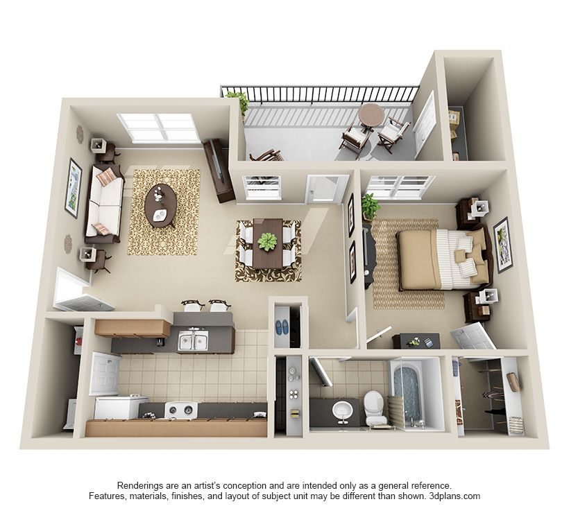 One Bedroom A2 Apartment Floor Plans Apartment Layout Apartment Furniture Layout