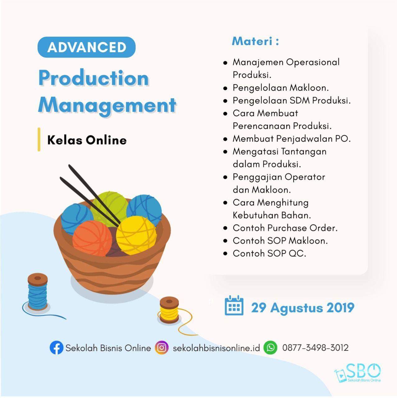 Manajemen Produksi Media Manajemen Produksi Adalah Manajemen Pemasaran Produksi Massal Production Management System Production Management P Messages Online