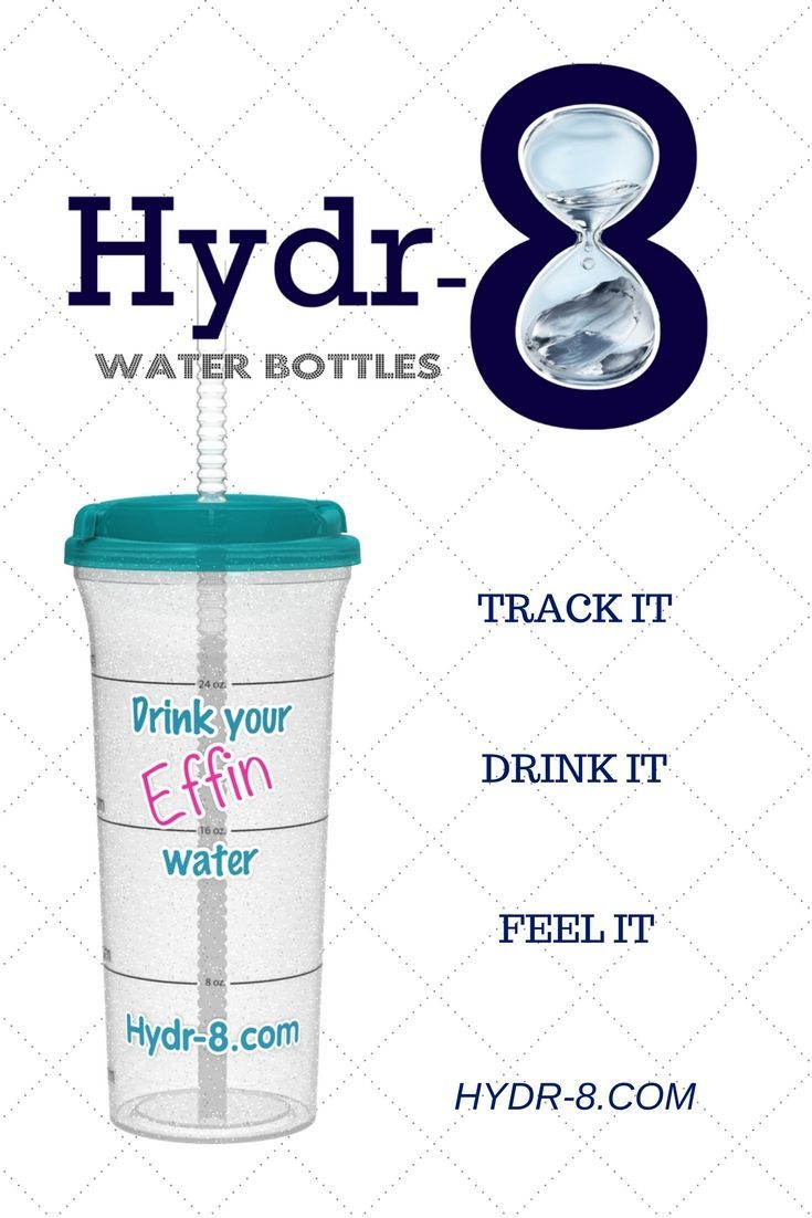 Hydr8 the hydration tracking water bottle water bottle