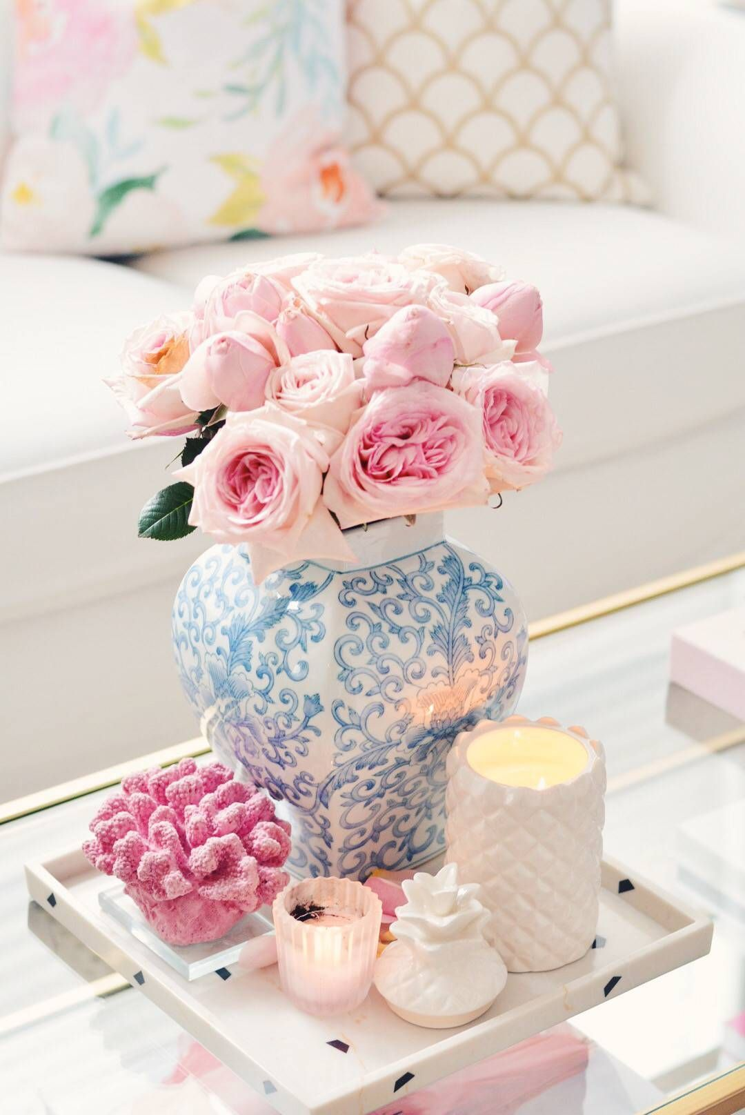 around the house: spring decor updates | spring and house