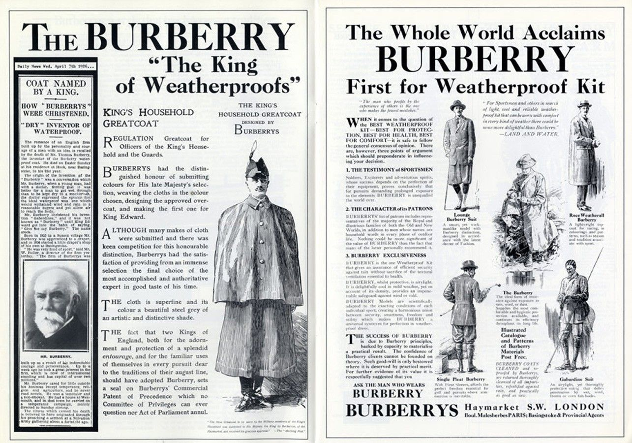 history of burberry Today we will speak of burberry, the luxury british brand representing british heritage and the lifestyle people are so eager to associate themselves with.