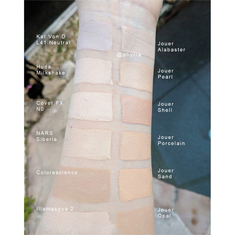 Latest Interiors Porcelain Skin: Jouer Essential High Coverage Creme Foundation