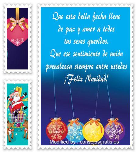 Tarjetas Con Mensajes De Navidad Para Facebook Lindos