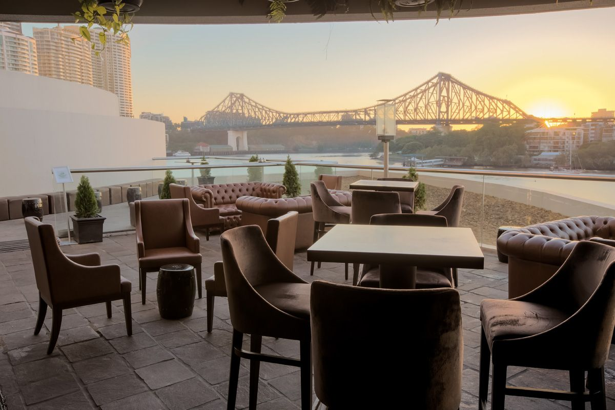 Black Bird Includes An Opulent Restaurant Two Private Dining Rooms And Stunning Bars It Has Views Of The River Story Bridge Is