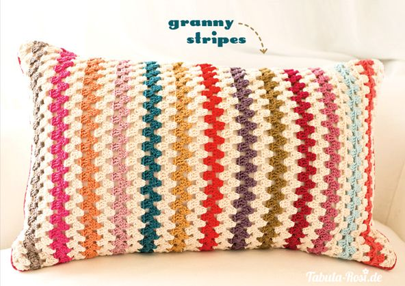 Crochet pillow pattern | Mantas e Almofadas | Pinterest | Kissen ...