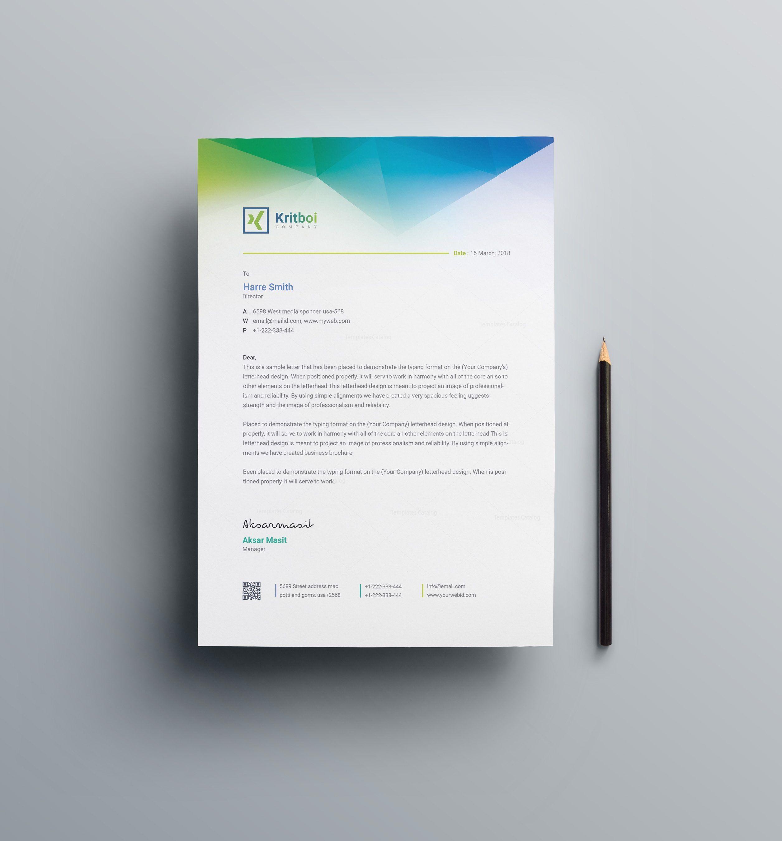 Alastor Professional Corporate Letterhead Template 001026: Apollo Professional Corporate Letterhead Template 001027
