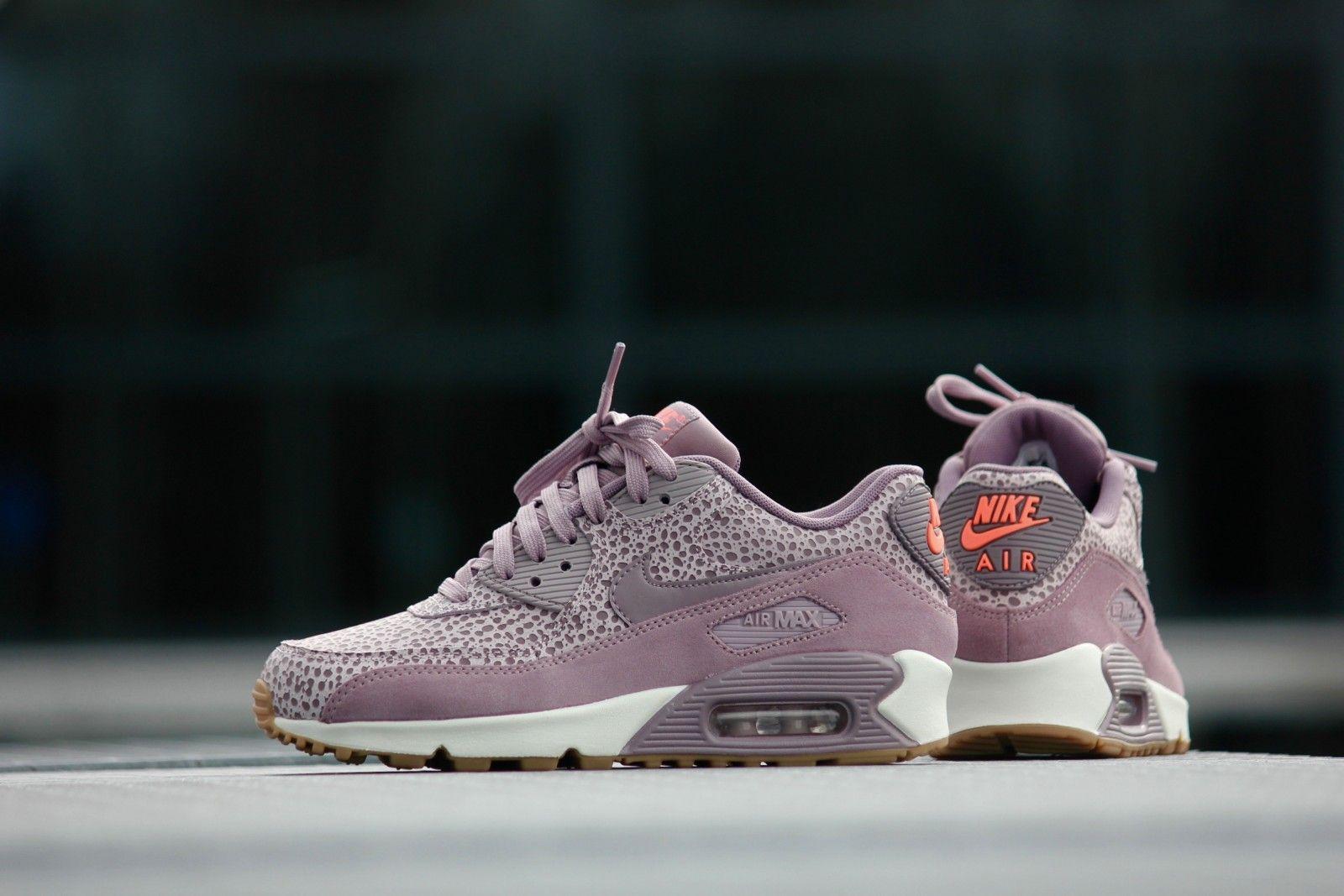 online store e6ed2 5a418 Nike WMNS Air Max 90 PRM Plum Fog  Purple Smoke - 443817-500