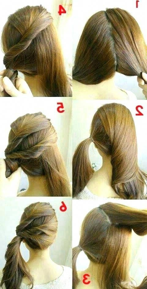 7 Easy Step by Step Hair Tutorials for Beginners # ...