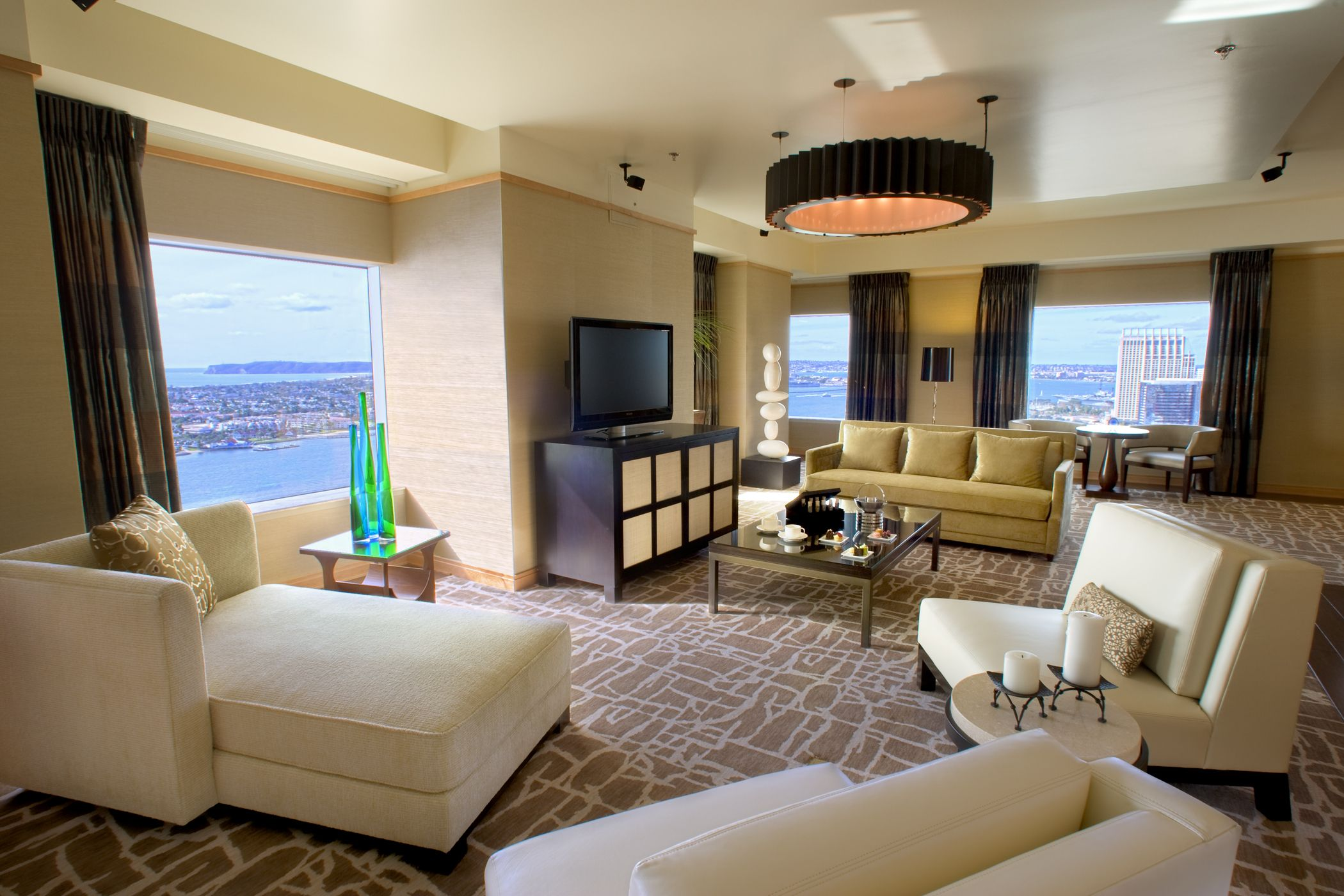 Our presidential suite living room! | The Hotel | Pinterest