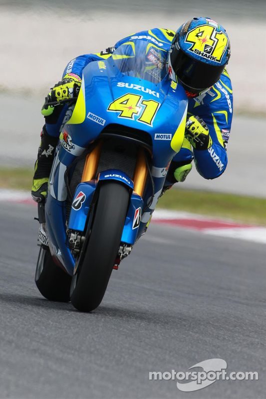 Aleix Espargaro, Team Suzuki MotoGP at Sepang February testing - MotoGP Photos