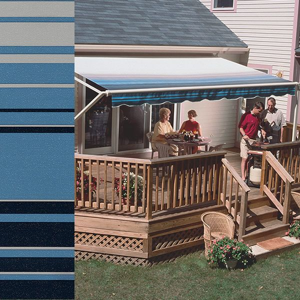 SunSetter Retractable Awnings - See How Little the ...