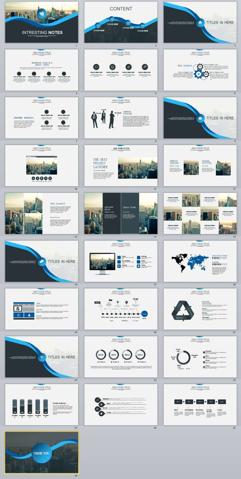 28+ best business powerpoint templates | the highest quality, Modern powerpoint