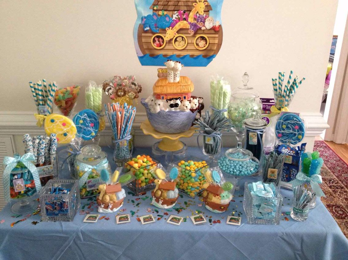 noahs ark baby shower theme