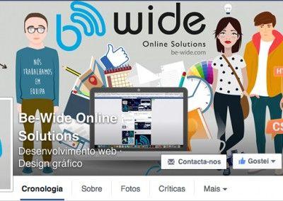 Capa Facebook Be Wide Team