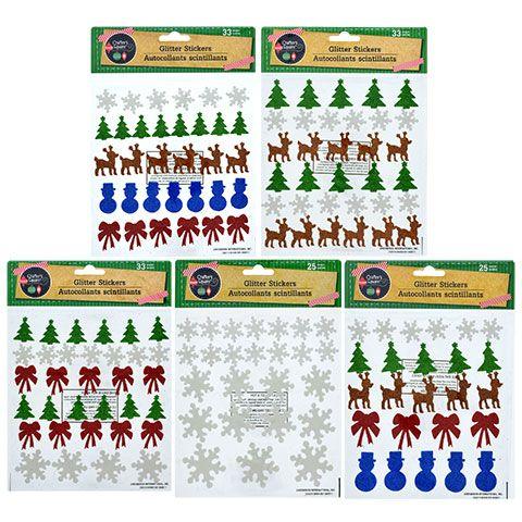 Bulk Crafter Christmas Stickers Attendance Chart Foam