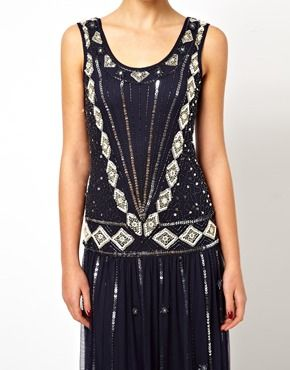 Image 3 ofFrock and Frill Maxi Dress in All Over Sequin