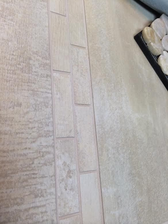 Herringbone Brick Pattern Using 12 X 20 The Tile Will Be On The Shower Curb Face And Top Shower Walls Herringbone Brick Pattern Shower Ceilings Shower Curb