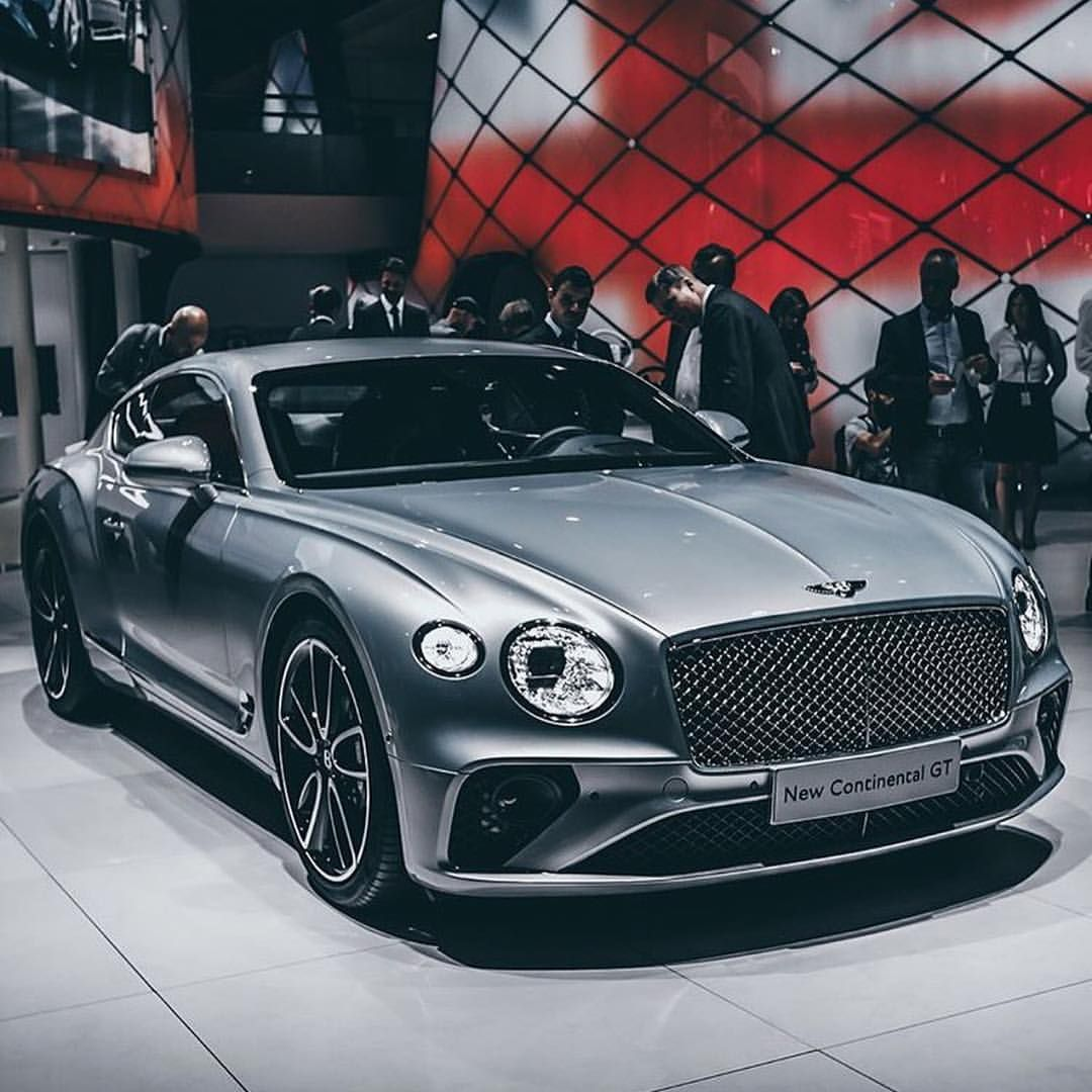 Completely New 2018 Bentley Continental GT