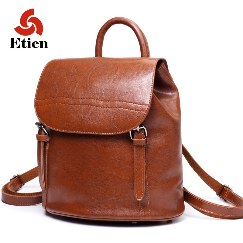 66.39$  Buy now - http://alia08.worldwells.pw/go.php?t=32727799227 - Women PU Leather Backpacks School Bags Students Backpack Ladies Women's Travel Bags Leather Package Female Brand Free shipping 66.39$