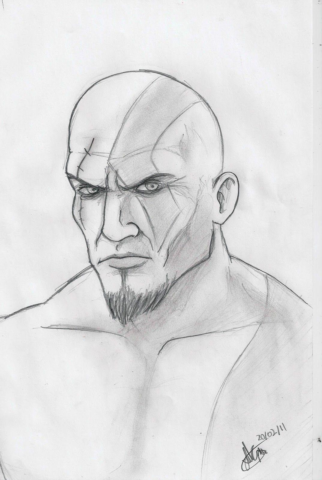 Desenhos Do Kratos Kratos Desenho Desenhos Criativos Desenhos