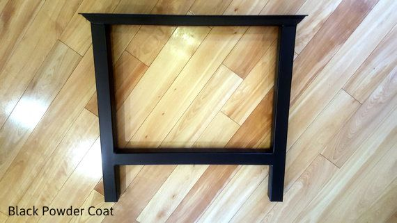 H Frame Metal Table Leg Set   Price Is For 2 Table Legs. Available In Raw  Steel, Distressed, Black U0026 Silver. Choose Your Width. **30+ Yrs Exp