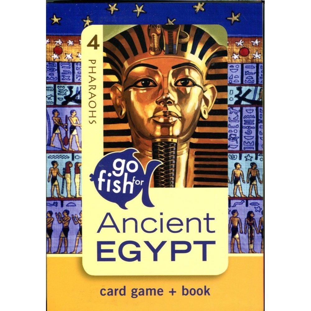 Ancient Egypt Go Fish Card Game In 2020 Fishing Cards Card Games Ancient Egypt