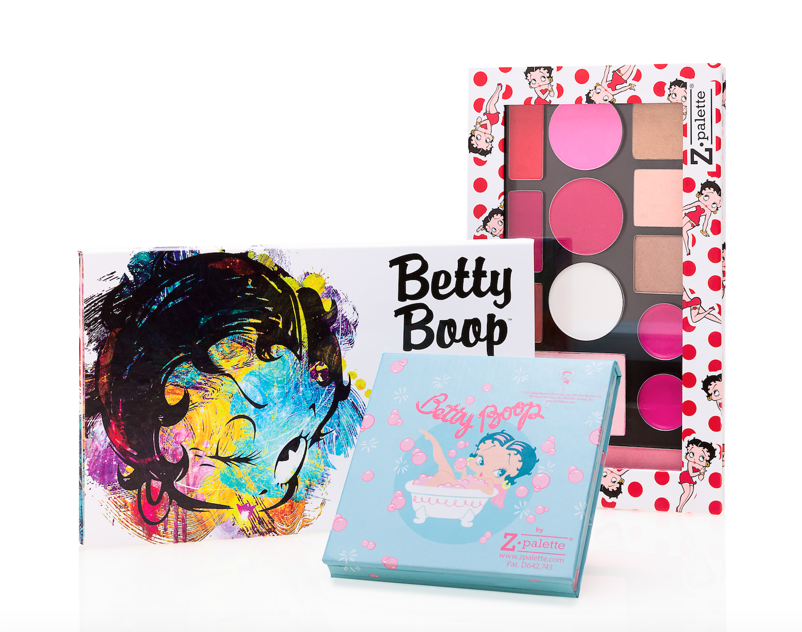 New Betty Boop collection from Z palette! Z palette