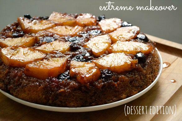 Cherry Pineapple Sour Cream Upside Down Cake Recipe Fruity Cake How Sweet Eats Upside Down Cake