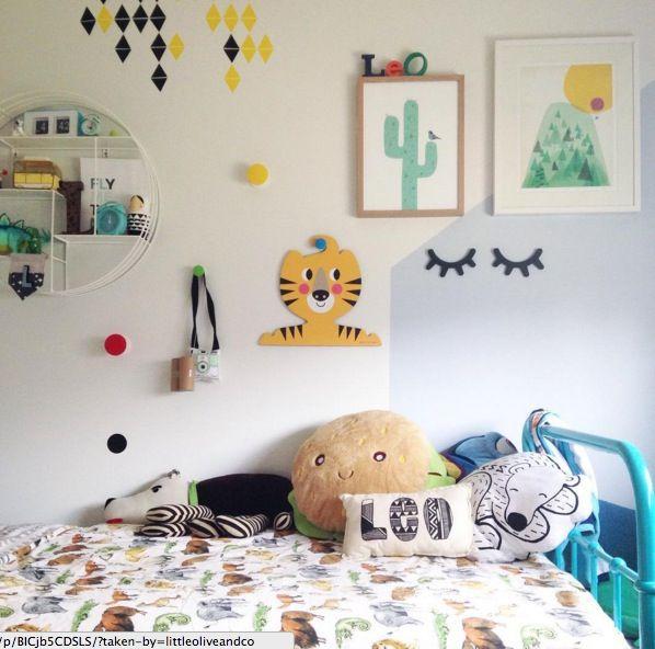 Idées pour décorer les murs d\u0027une chambre d\u0027enfant