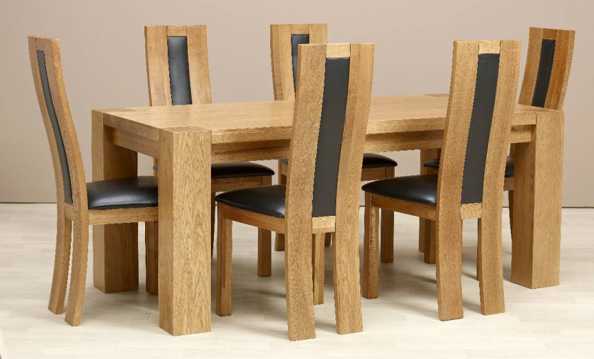 Dining Table 6 Chairs Kursi Makan Kursi Meja Makan Interior