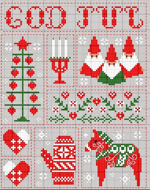 Gazette94 Un Noel En Scandinavie Scandinavian Cross Stitch Xmas Cross Stitch Christmas Cross Stitch