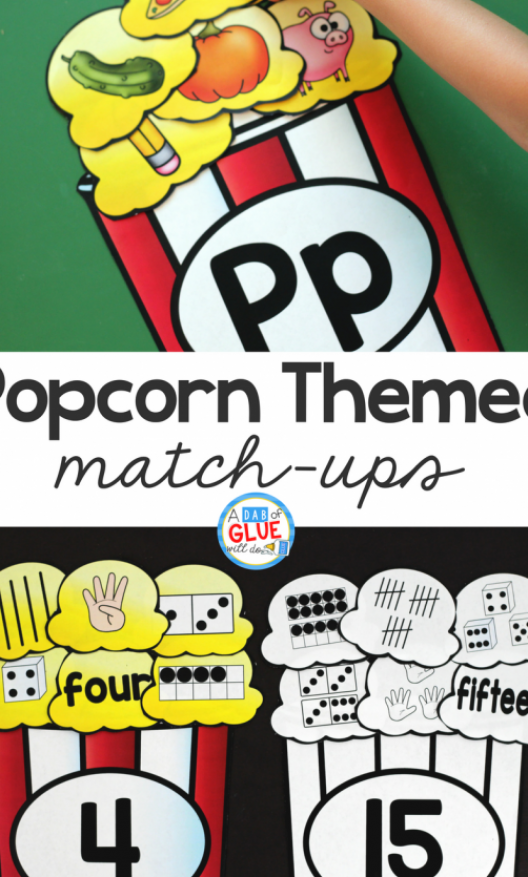 Make learning fun with these themed Initial Sound and Number Match-Ups  Your …