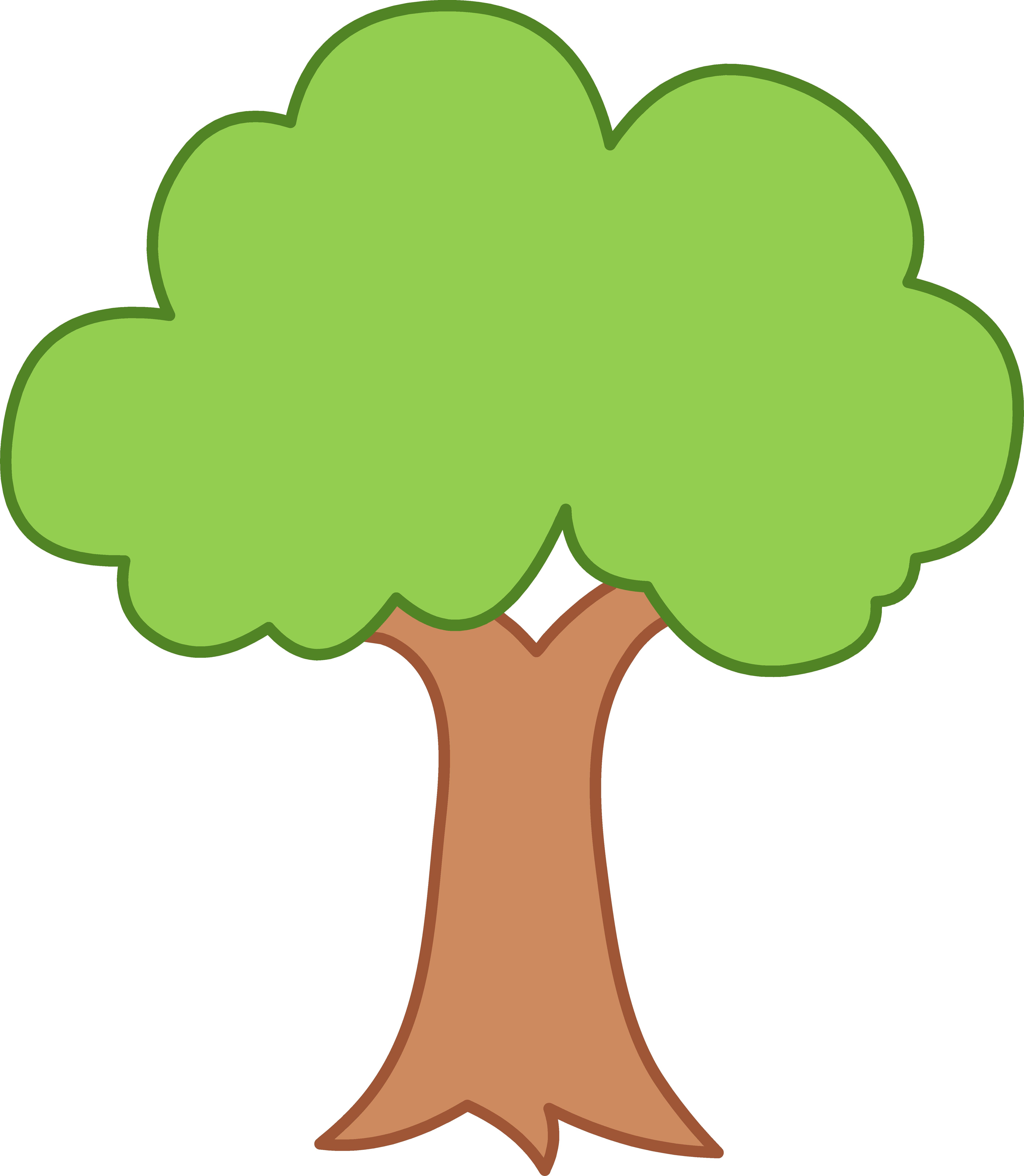 Green Tree Clipart. Clipart Panda - Free